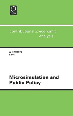 Microsimulation and Public Policy: Selected Papers from the IARIW Special Conference on Microsimulation and Public Policy, Held in Canberra, Australia, Between 5th and 9th December, 1993