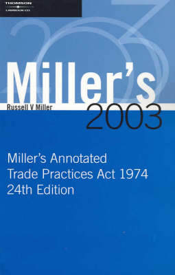 Miller's Annotated Trade Practices Act