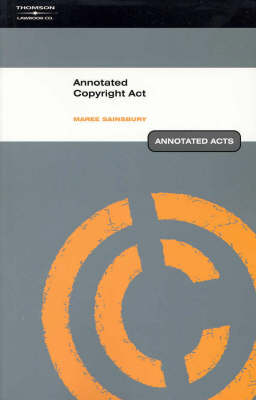 Annotated Copyright Act
