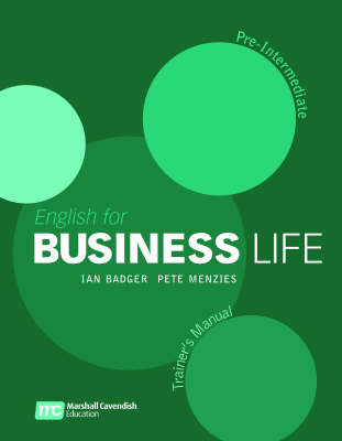 English for Business Life - Pre Inermediate - Trainers Manual