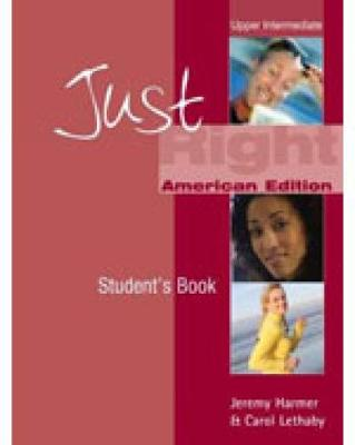 Just Right - Workbook - Upper Intermediate - With Key and Audio CD - CEF B2