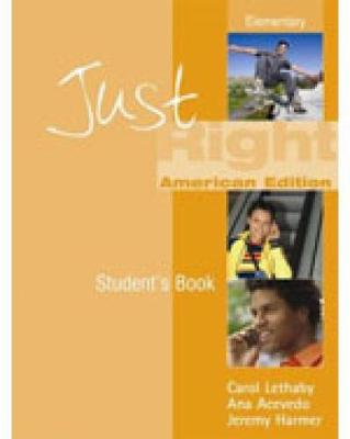 Just Right Elementary - Workbook with Answer Key: JUST RIGHT BRE ELEM WB W/KEY +AUDIO CD Elementary Level British English Version