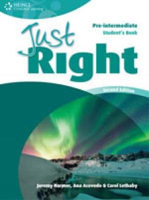 Just Right Pre-Intermediate: Workbook with Key and Audio CD: Pre-intermediate American English Version