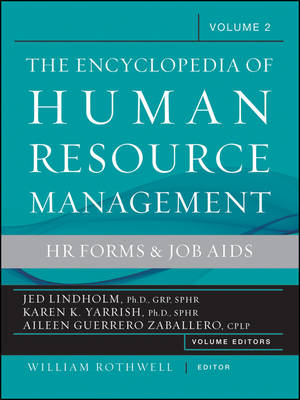 Encyclopedia of Human Resource Management: Volume 2: Hr Forms & Job Aids