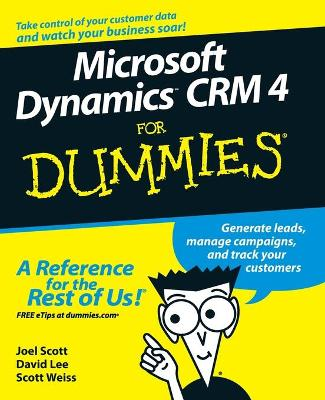 Microsoft Dynamics CRM 4 for Dummies (R)
