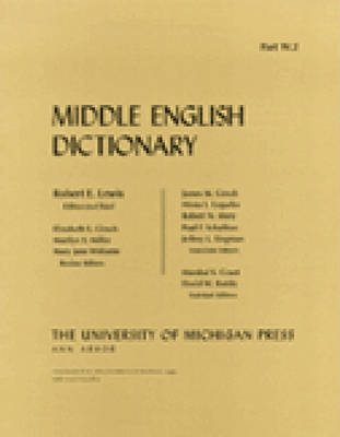 Middle English Dictionary: W.2