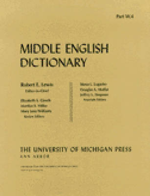 Middle English Dictionary: W.4