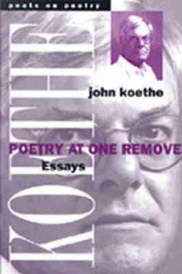 Poetry at One Remove: Essays