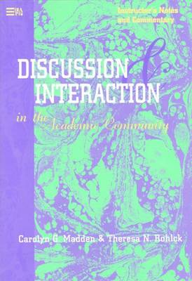 Discussion and Interaction in the Academic Community
