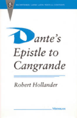 "Dante's ""Epistle to Cangrande"""
