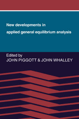 New Developments in Applied General Equilibrium Analysis