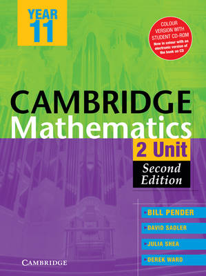 Cambridge 2 Unit Mathematics Year 11 Colour Version with Student CD-ROM