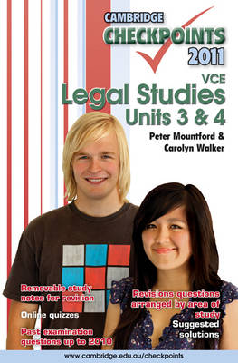 Cambridge Checkpoints VCE Legal Studies Units 3 and 4 2011