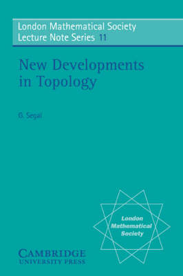 New Developments in Topology