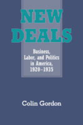 New Deals: Business, Labor, and Politics in America, 1920-1935