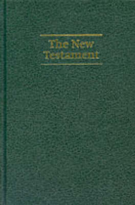NIV Giant Print New Testament Dark Green Imitation Leather NIVNT480