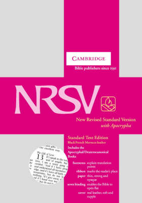 NRSV Standard Text Edition with Apocrypha NR13A Black French Morocco Leather