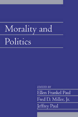 Morality and Politics: Volume 21, Part 1