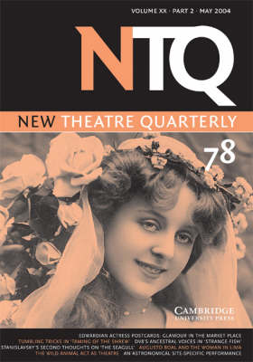 New Theatre Quarterly 78: Volume 20, Part 2