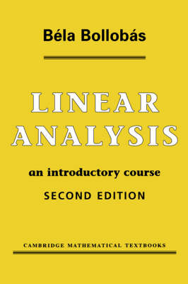 Linear Analysis: An Introductory Course