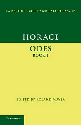 Horace: Odes Book I