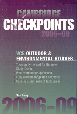 Cambridge Checkpoints VCE Outdoor and Environmental Studies 2006-11