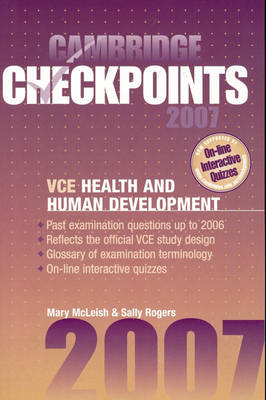 Cambridge Checkpoints VCE Health and Human Development 2007