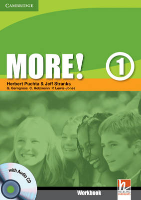 More! Level 1 Workbook with Audio CD