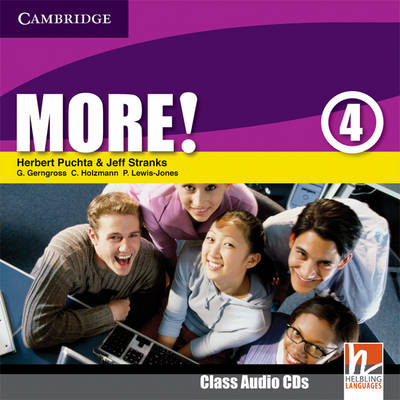 More! Level 4 Class Audio CDs (2)