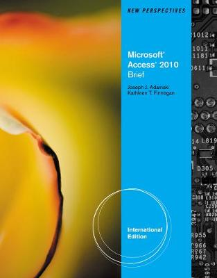 New Perspectives on Microsoft Office Access 2010: Brief
