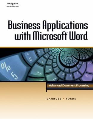 Business Applications with Microsoft (R) Word