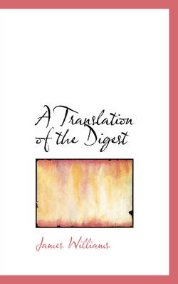 A Translation of the Digest