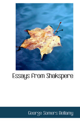 Essays from Shakspere