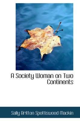 A Society Woman on Two Continents