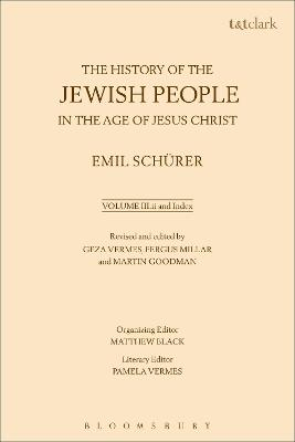 The History of the Jewish People in the Age of Jesus Christ: Volume 3.II: And Index