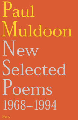 New Selected Poems: 1968-1994