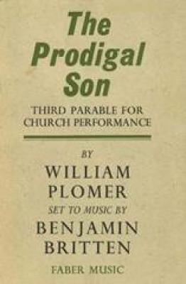 The Prodigal Son: (libretto)