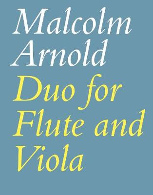 Duo for Flute and Viola: (Playing Score)