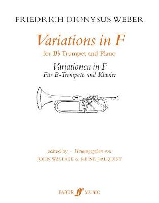 Variations in F: (Trumpet and Piano)