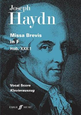 Missa Brevis in F: (Vocal Score)