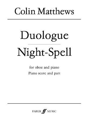 Duologue and Night-spell: (Oboe and Piano)
