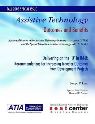 Delivering on the 'D' in R&D: Recommendations for Increasing Transfer Outcomes from Developmental Projects