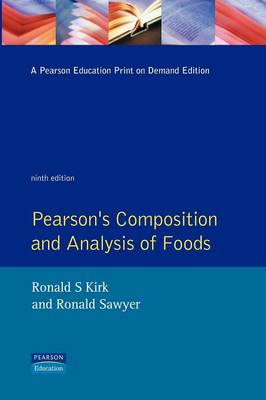 Pearson's Composition and Analysis of Foods