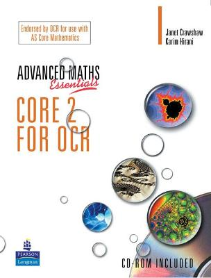A Level Maths Essentials Core 2 for OCR Book and CD-ROM