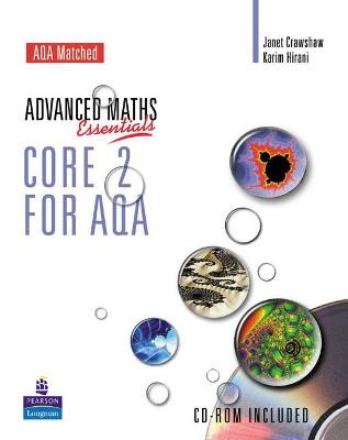 A Level Maths Essentials Core 2 for AQA Book and CD-ROM