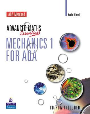 A Level Maths Essentials Mechanics 1 for AQA Book and CD-ROM