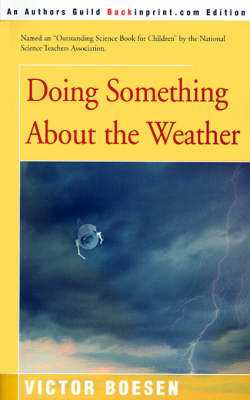 Doing Something about the Weather