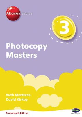 Abacus Evolve Year 3 Photocopy Masters Framework Edition