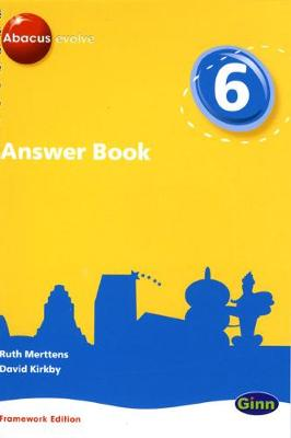 Abacus Evolve Framework Edition Year 6/P7: Answer Book
