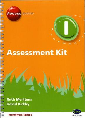 Abacus Evolve Year 1 Assessment Kit Framework